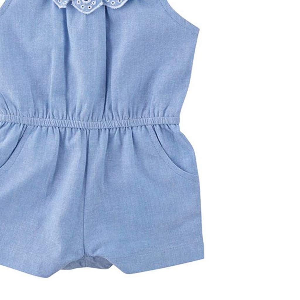 Family Matching Clothes Mother Daughter Dresses Summer Denim Ruffles Lace Off Shoulder Dress Vintage Retro Girls Kids Ladies Sundress Boho Tunic Dress Casual Birthday Princess Party Dress