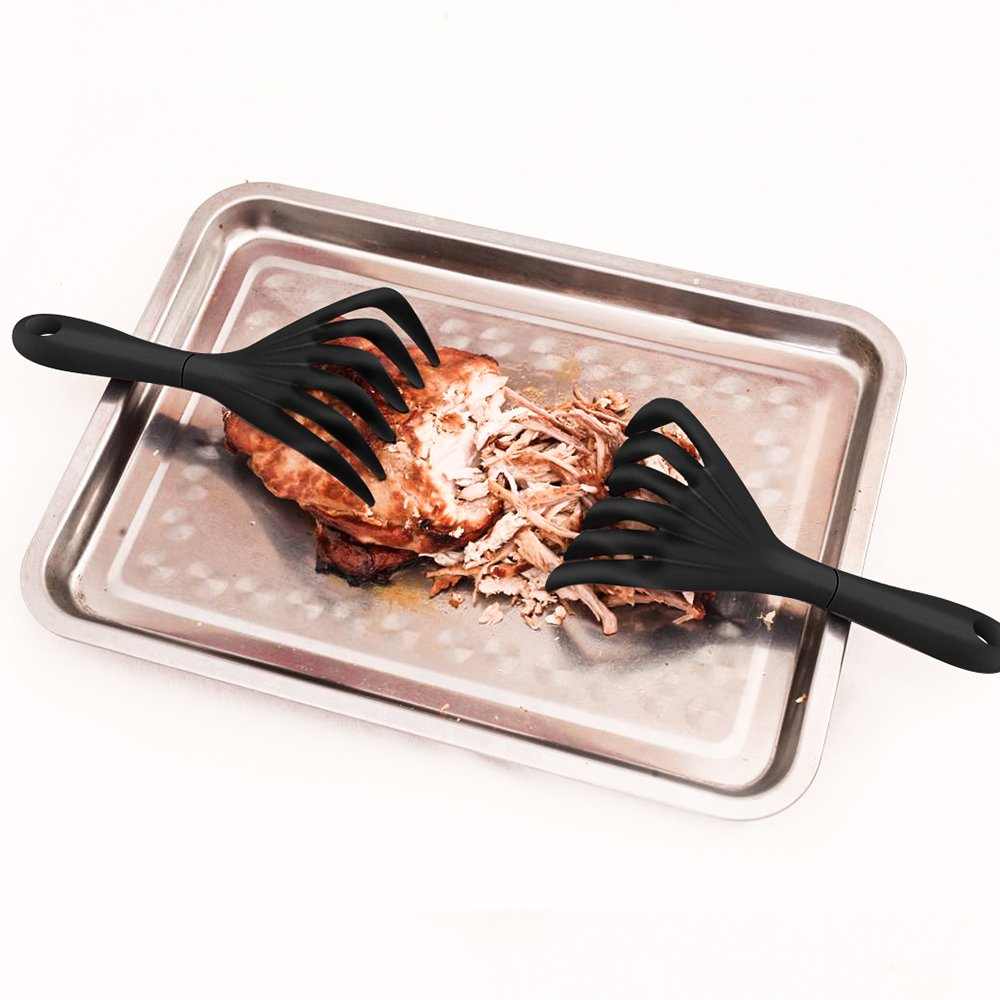 AWESE Grips Meat Shredding Claws with Handles - Easily Lift, Bear Paws Shredder Claws, Meat Shredding Forks - BBQ Grilling Accessories from Grill Beast- Heat Resistant Nylon by AWESE (Image #4)