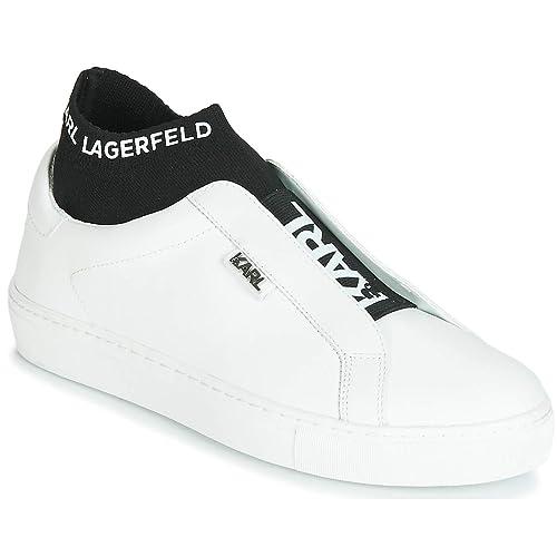 Karl Lagerfeld KL61041 Sneakers Donna White 40: Amazon.it