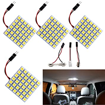 61Ote5n8h L._SY355_ amazon com everbright 4 pack super white 5050 36 smd led panel dome