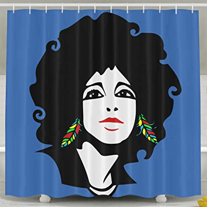 Image Unavailable Not Available For Color Cool African Woman Shower Curtain
