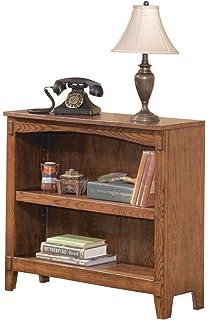 Ashley Furniture Signature Design   Cross Island Bookcase   1 Adjustable  Shelf   Vintage Casual