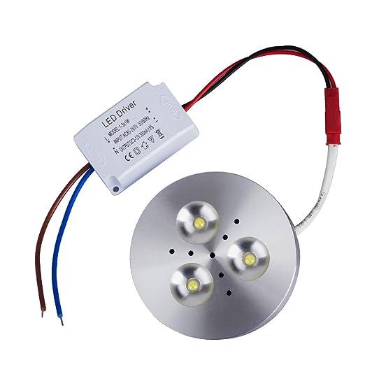 T-SUN LED Unter Schrank Beleuchtung, 3W 300lm Puck Lichter, unter ...
