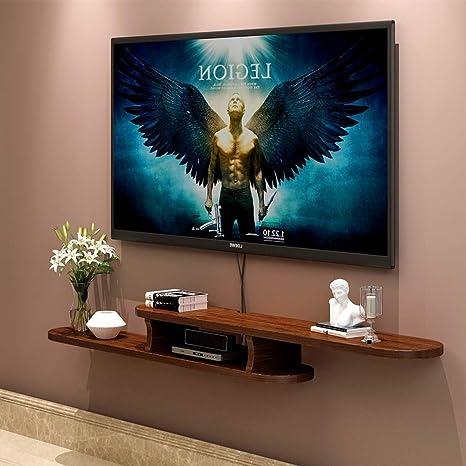 Televisor Montado en la Pared Gabinete Estante Flotante Dormitorio ...