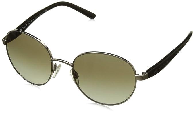 d55c1630eaa0 Amazon.com: Michael Kors SADIE III MK1007 Sunglasses 100413-52 - Gold  Frame, Smoke Gradient MK1007-100413-52: Michael Kors: Shoes