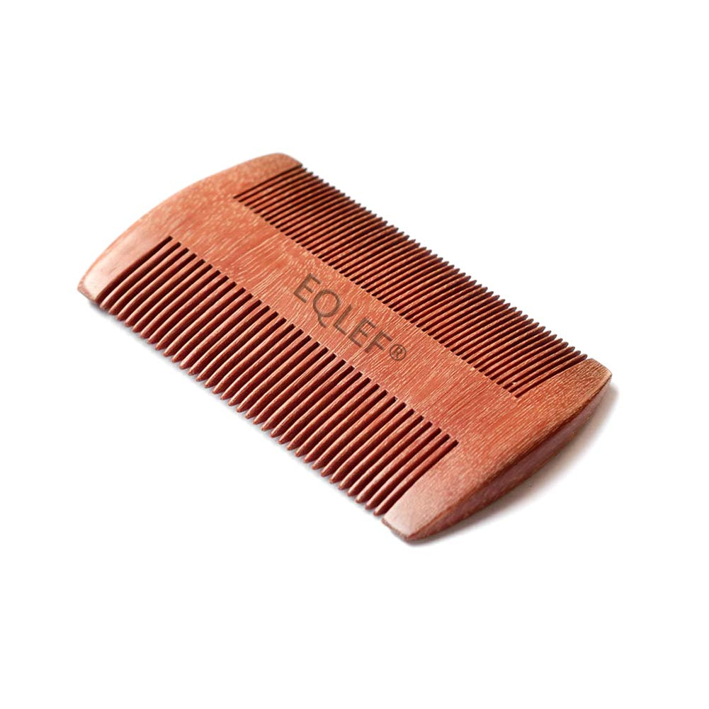 EQLEF® Red sandalwood no static handmade comb (standard)