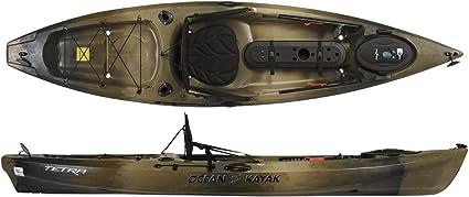 Amazon Com Ocean Kayak Tetra 10 Angler Brown Camo