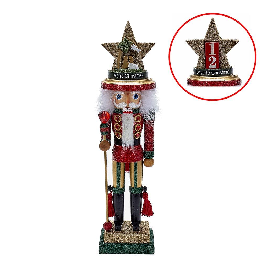 Kurt Adler 18'' Hollywood Nativity Hat Nutcracker