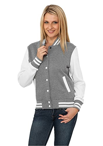 Urban Classics Ladies 2-tone College Sweatjacket - Prenda