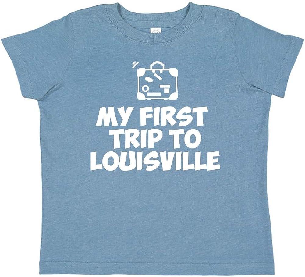 My First Trip to Louisville Toddler//Kids Short Sleeve T-Shirt