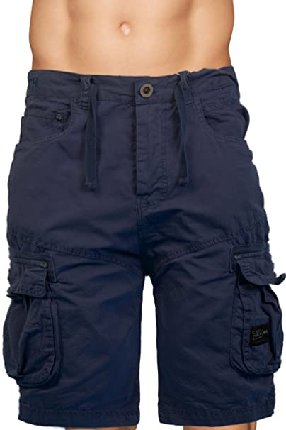638e3d20a9 Mens Knee Length Combat Cargo Chino Cotton Shorts By Crosshatch: Amazon.co.uk:  Clothing