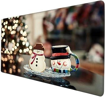 DiscoveGigmpd Protector Mesa Escritorio Hermoso árbol de Navidad ...