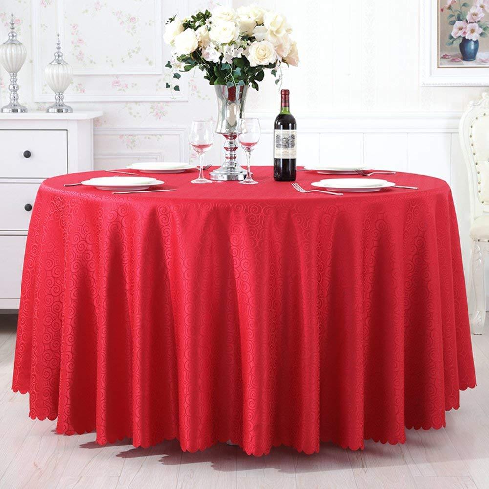 Shuangdeng ホテルテーブルクロスラウンドテーブルレストランラウンドテーブルクロス生地ダイニングルームテーブルクロス (Color : E, サイズ : 140x200cm(55x79inch))   B07S9B2SLL