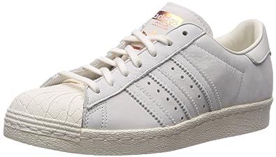 7b455df1a04 adidas Originals Women's Superstar 80s W Running Shoe, CWHITE,COPPMT, 6  Medium US