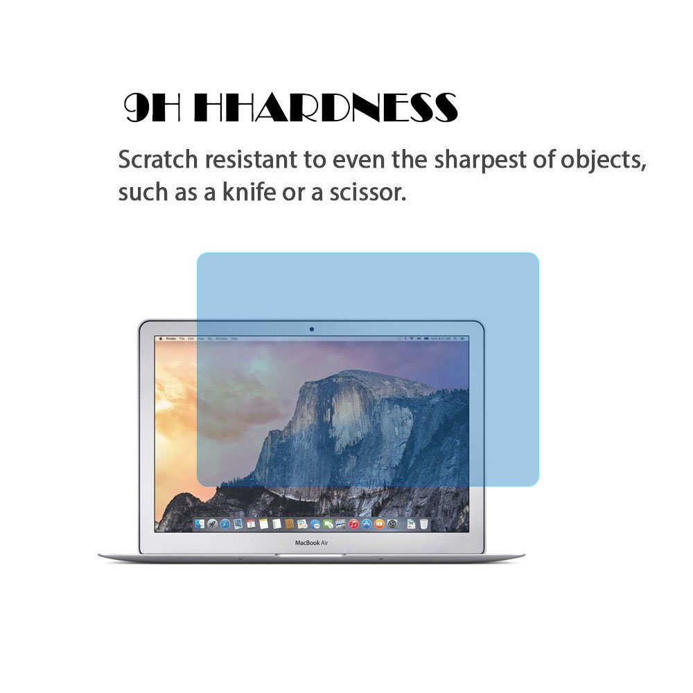 Protecteur d/écran anti-lumi/ère bleue pour Macbook Air 11 pouces protection d/écran en verre tremp/é de duret/é 9H pour Macbook Air 11.6 avec filtre de lumi/ère bleue Soulager la fatigue des yeux