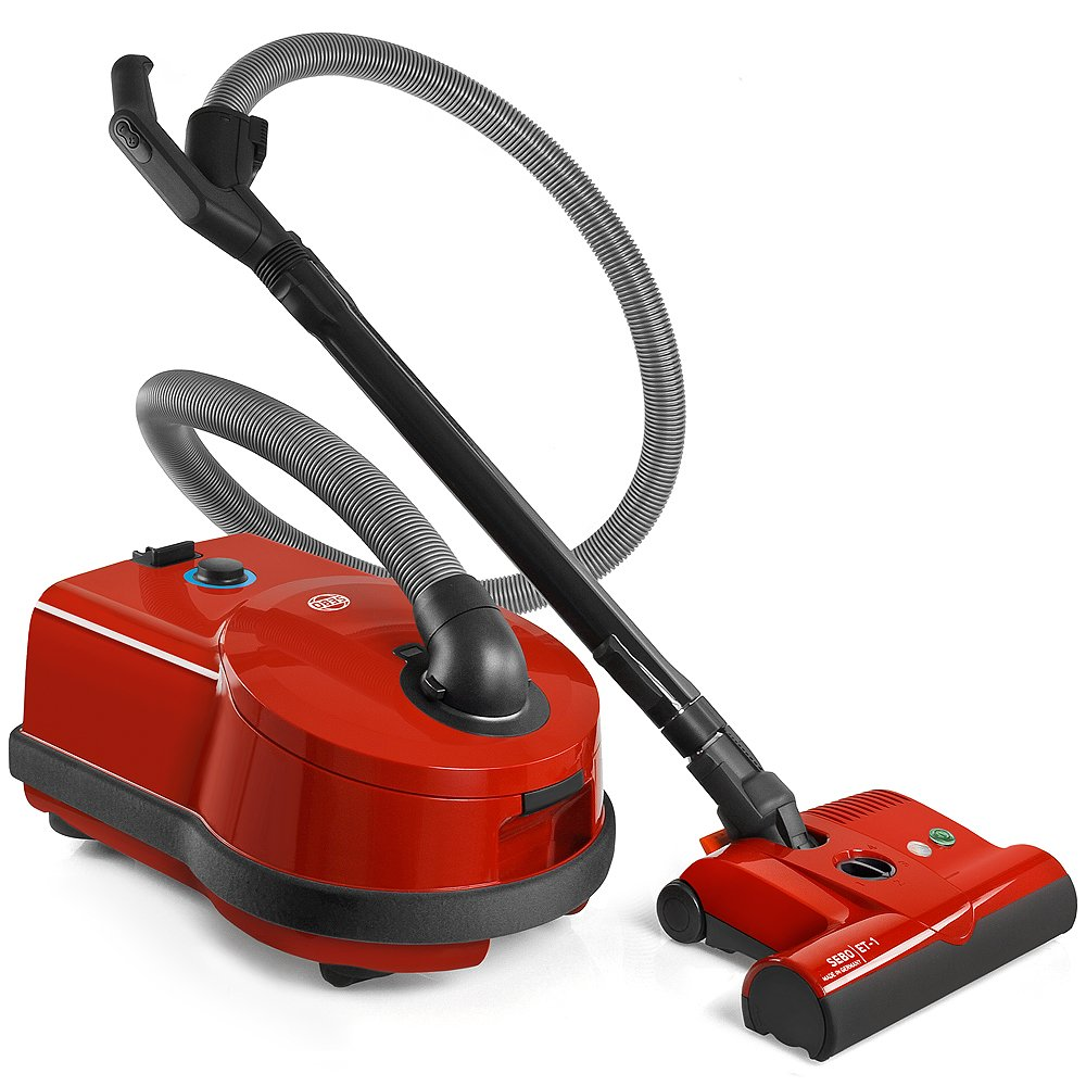 Sebo vacuum cleaners at bed bath and beyond - Amazon Com Sebo Airbelt D4 Red Canister Vacuum Cleaner With Et 1 Powerhead And Bare Floor Brush Household Canister Vacuums