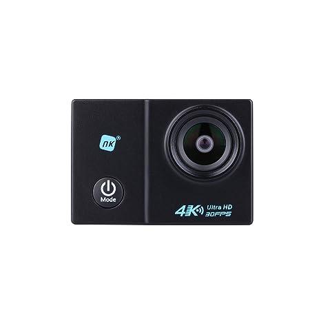 NK Grave Cámara Deportiva subacuática 4K (Ultra-Alta Definición) HD 16MP, WiFi - HDMI, Carcasa Impermeable 30M, 170º Gran Angular, Sensor ...