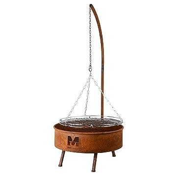 RM Diseño Brasero Parrilla de Acero Inoxidable óxido ...