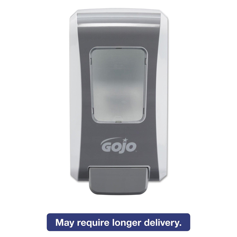 FMX-20 Soap Dispenser, 2000 ml, 6 1/2 x 4 7/10 x 11 7/10, White/Gray, 6/Carton, Sold as 1 Carton, 6 Each per Carton