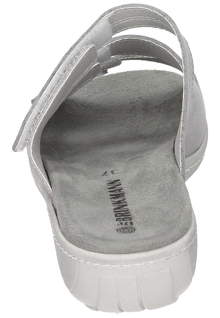 Dr. Brinkmann Damen Pantolette Grau Grau Pantolette 86cb32