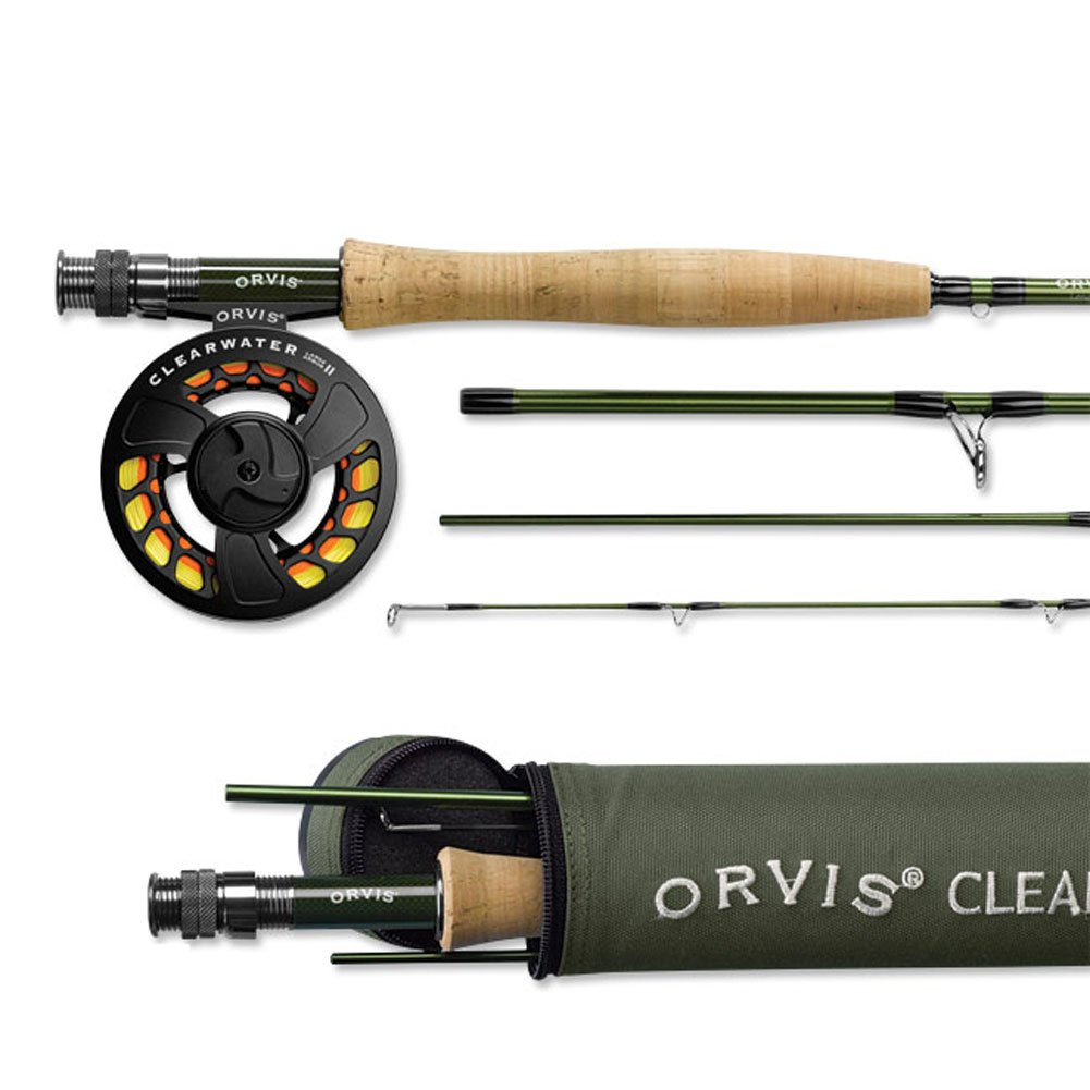 Orvis Clearwater Fly Rod Outfit 905-4 - 5wt 9ft 0in 4pc by Orvis