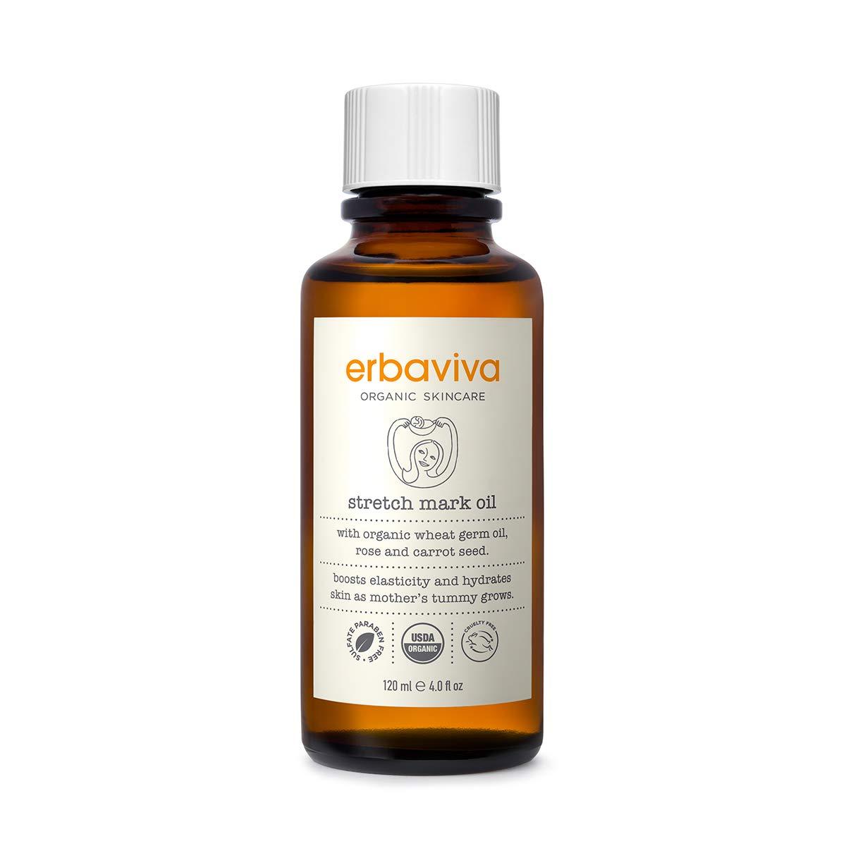 Erbaviva Stretch Mark Oil, 4 oz by erbaviva