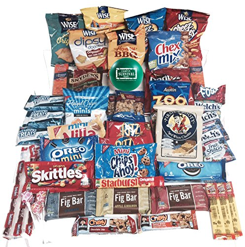 50-count Sweet and Salty Snack Mix Campus Survival Kit