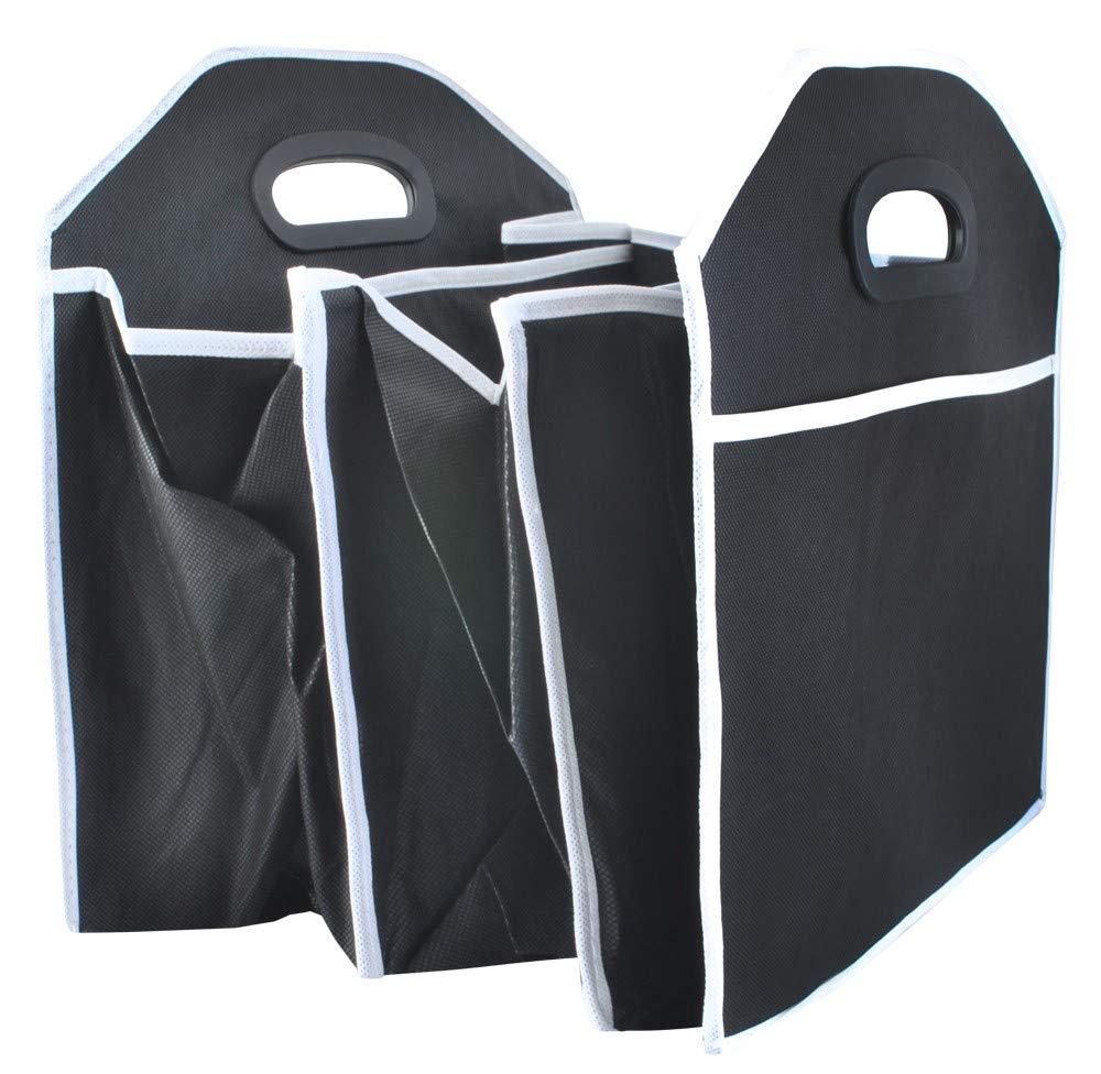 Kofferraum Autotasche Organizer Kofferraumtasche Box Einkaufstasche Schwarz#4169