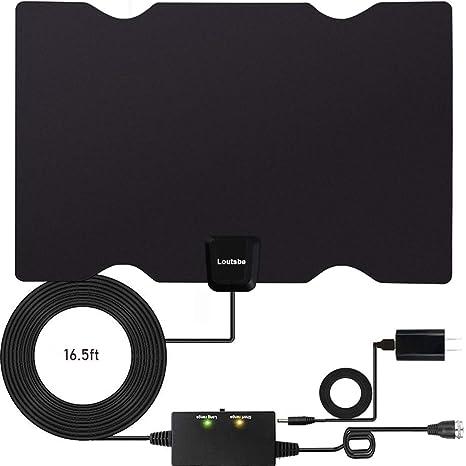 Amazon.com: Antena de TV HD digital para interiores [2019 ...