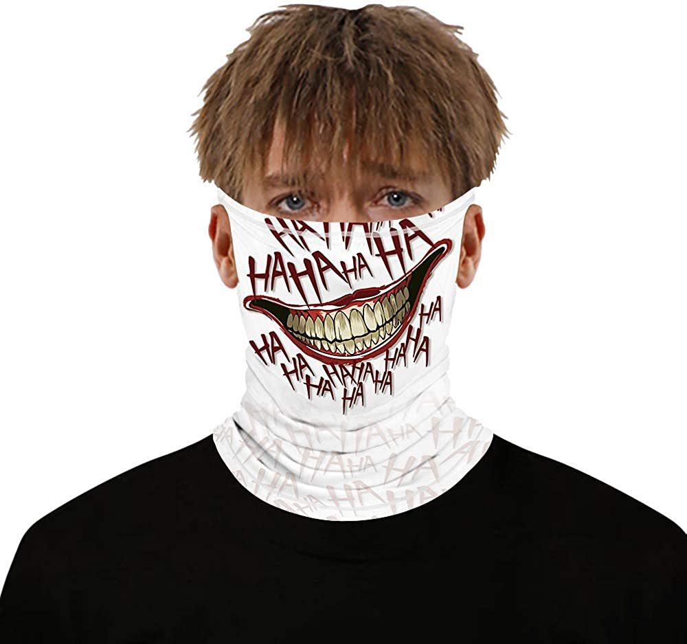 3D Printed Multifunction Face Mask Ear Loops Scarf Bandana Face Cover For Outdoor Running Riding