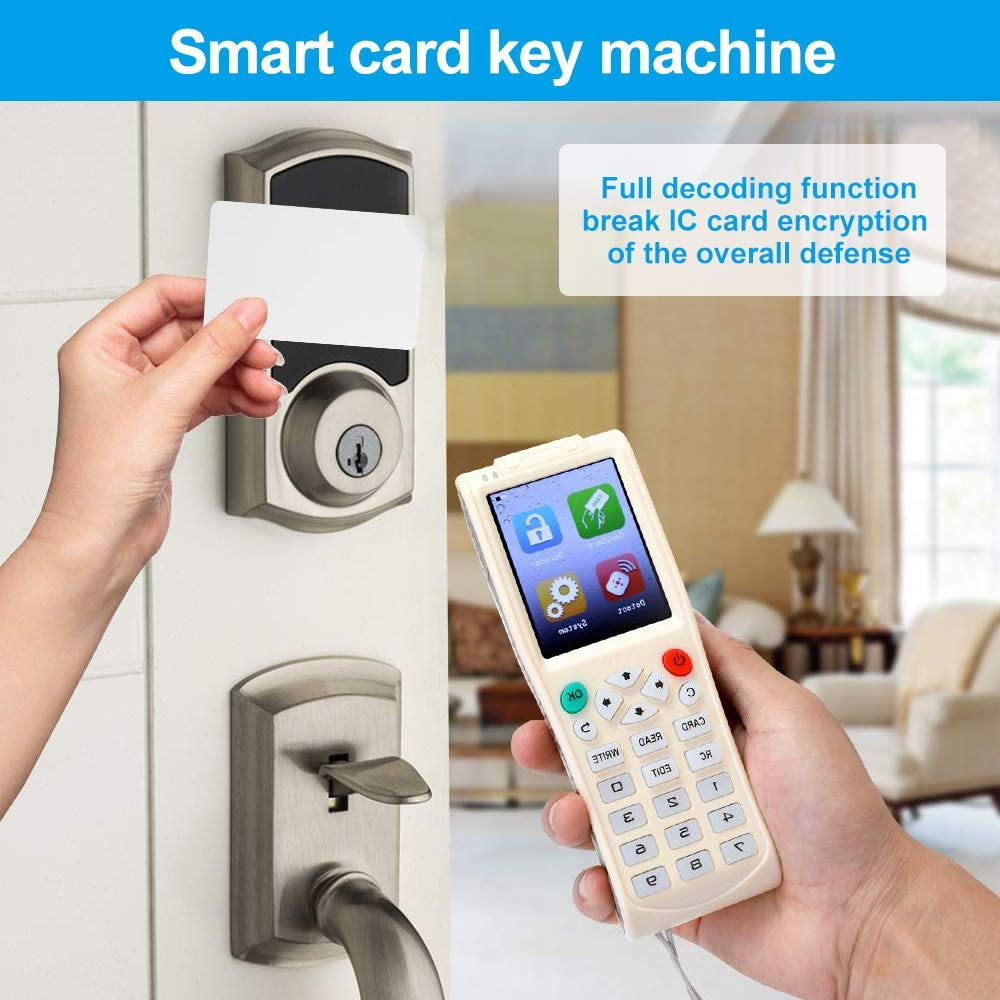 iCopy 5 Full Decode Function Smart Card with RFID NFC Card Copier for IC ID Reader Writer Duplicator