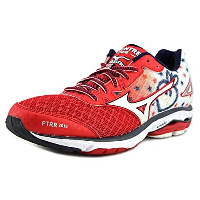 Mizuno Wave Rider 19 Women US 12 Red Running Shoe  Amazon.in  Shoes ... d634626c0