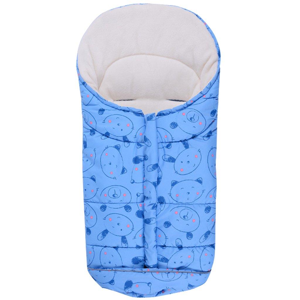 Bebé Saco de Dormir 3 Tog, Mantas Envolventes Invierno para Cochecito 0-6 Meses, Azul: Amazon.es: Bebé