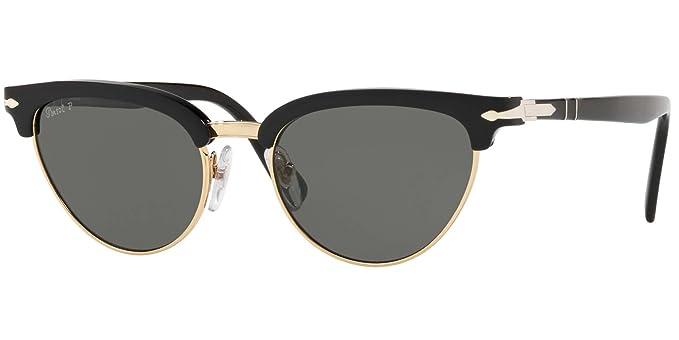 Persol 95/58 Gafas de sol, Ojos de gato, Polarizadas, 50,