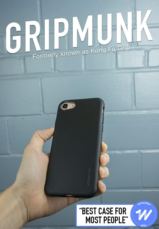 Smartish iPhone 7/8/SE (2020) Slim Case - Gripmunk [Lightweight Protective] Thin Cover for Apple iPhone SE 2020 & iPhone 7/8 - [Silk] - Black Tie ...