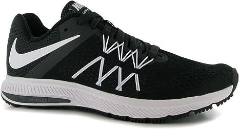 Nike Zoom Winflo 3 Zapatillas de Running para Hombre Negro/Blanco Fitness Zapatillas Zapatillas, Negro/Blanco: Amazon.es: Deportes y aire libre