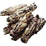 Small Yerba Santa Smudge stick bundle approx 3 inches, wild harvested, Reiki infused (100 PACK)
