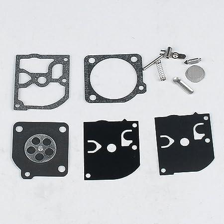 Amazon.com: Carburador reconstruir kit de juntas Diafragma ...