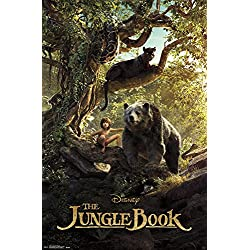 "Trends International The Jungle Book Man Cub Wall Poster 22.375"" x 34"""