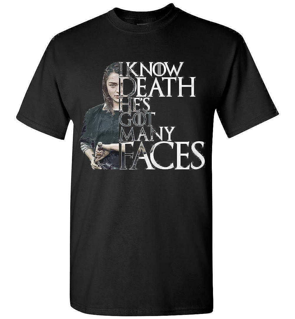 Arya Stark I Know Death He S Got Many Faces 9094 Shirts