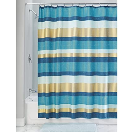 Amazon InterDesign Fabric Polyester Shower Curtain 72 X