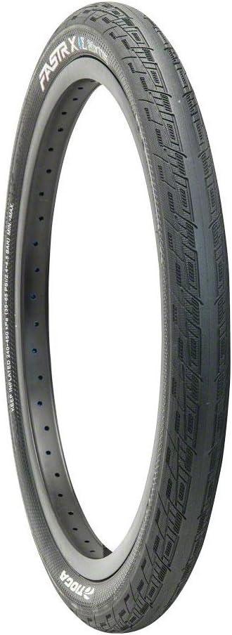 Black Tioga FASTR X BLK LBL Tire Folding Bead 20x1.60