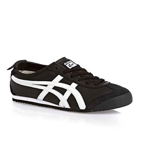 c6ca7bb3c5f0e ASICS Onitsuka Tiger Mexico 66 Black White Mens Trainers DL408-9001  Amazon. ca  Shoes   Handbags