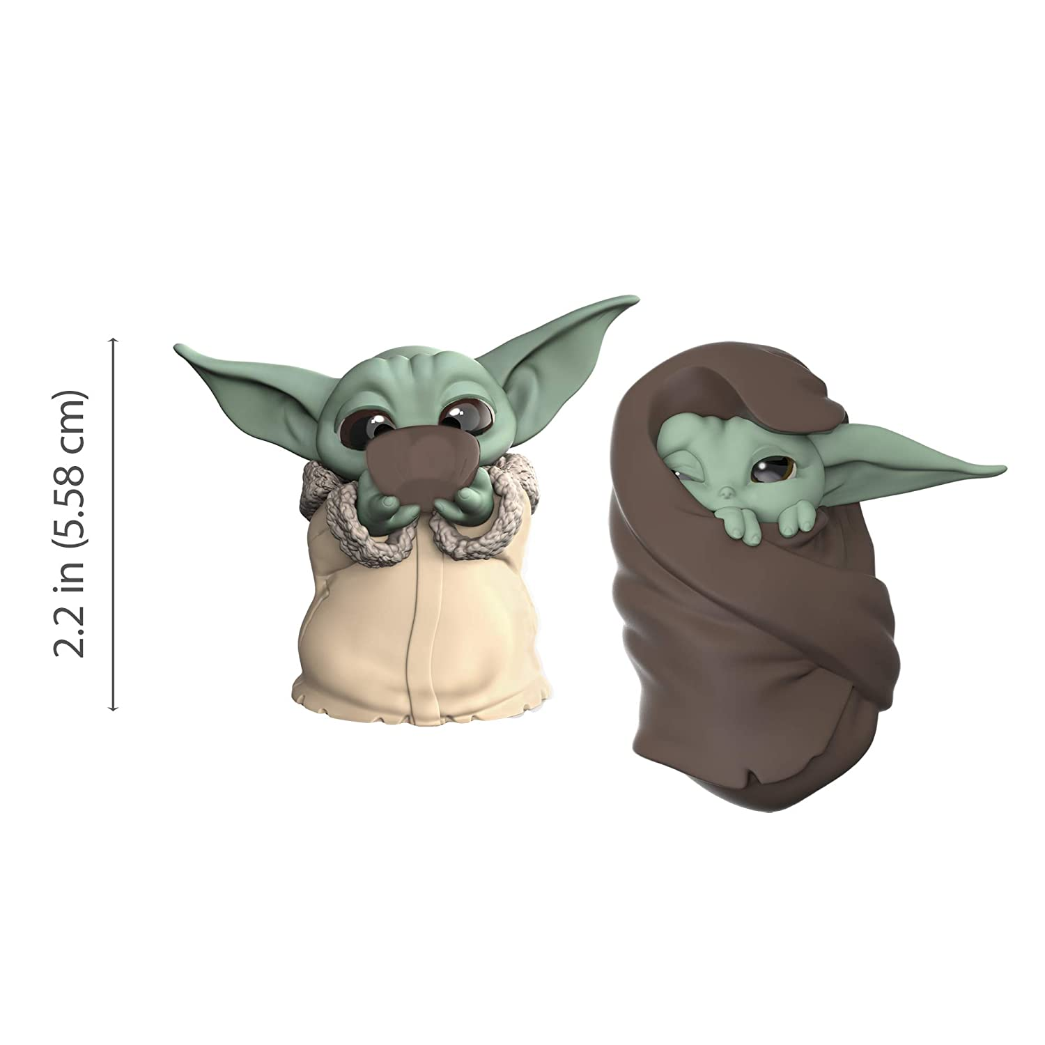 "The Mandalorian ""Baby Yoda"" The Child Collectible Toys 2.2-Inch"