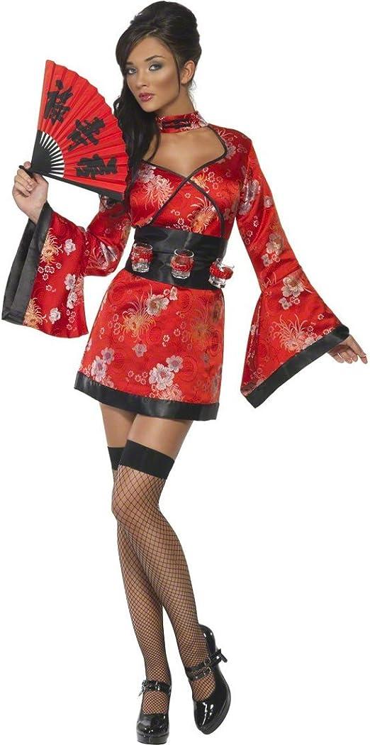 NET TOYS Atractivo Disfraz de Geisha para Mujeres Kimono Damas ...