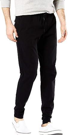 Dockers Pantalon Jogger Negro Hombre Amazon Es Ropa Y Accesorios