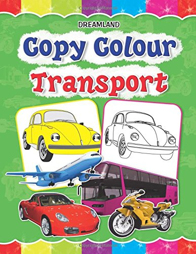 Copy Colour: Transport (Copy Colour Books)