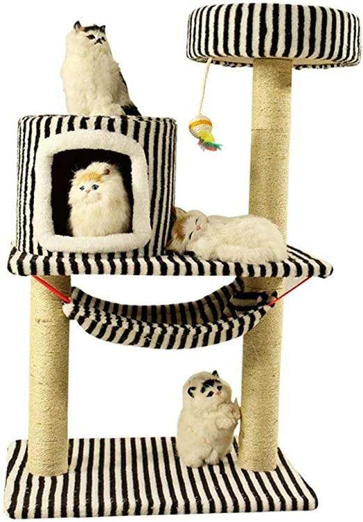 Axiba Árbol para Gatos,Juegos de Gato Escalada Marco Gato Gato ...