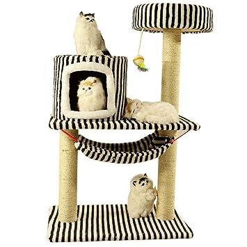 Axiba Árbol para Gatos,Juegos de Gato Escalada Marco Gato Gato Nido Gato Madera sólida un árbol para Dormir 45 cm * 65 cm * 100 cm: Amazon.es: Productos ...