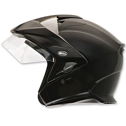Bell Mag-9 Matte Black Open Face Helmet, XL